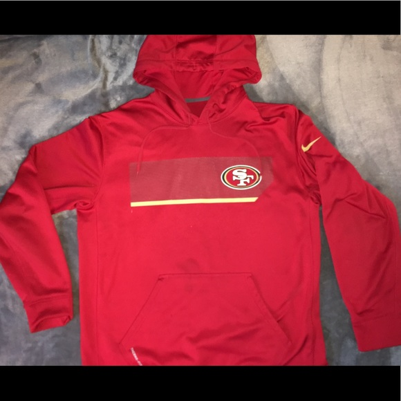 designer fashion e59dc 14da7 San Francisco 49ers Nike Sweatshirt